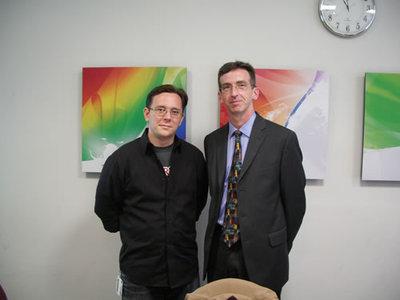 Adobe Systems ColdFuion Specialist,Adam Lehman氏(左),同 Sr. Product Marketing Manager,Tim Buntel氏