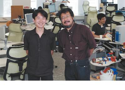 (左)奥一穂氏,(右)(左)小飼弾氏(撮影:武田康宏)