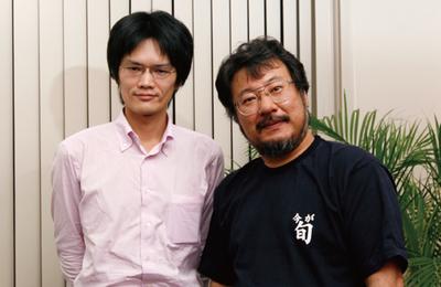 左:青木靖氏,右:小飼弾氏(撮影:武田康宏)