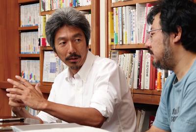 左:中島聡氏,右:小飼弾氏(撮影:武田康宏)