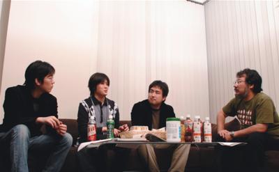 (左から)太田一樹氏,田中英行氏,岡野原大輔氏,小飼弾氏(撮影:武田康宏)