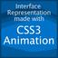 CSS3アニメーションでつくるインターフェイス表現