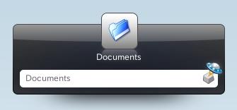 図3 ディレクトリを指定すればファイルマネージャが起動される
