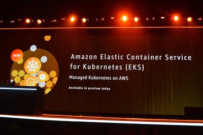 2017年11月にAWSが発表したマネージドサービス「Amazon Elastic Container Service for Kubernetes」はECSをKubernetesに対応させたもの。顧客からの強い要望により実現したサービス