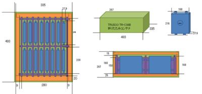 図3 無線AP収納箱の設計図