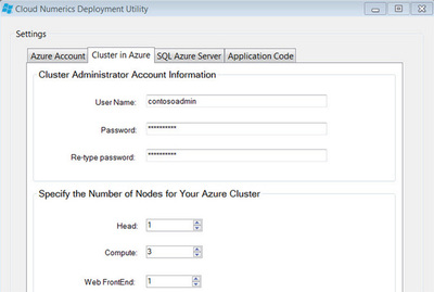 図1 Cloud Numericsの配置画面