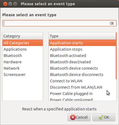 図2 イベントはハードウェア関連のイベントが主体になる