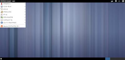 図3 在りし日(Ubuntu GNOME 13.04)のGNOME Fallbackセッション