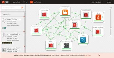 図6 Juju GUIの画面