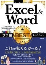 [表紙]今すぐ使えるかんたんEx Excel&Word プロ技BESTセレクション[Exce