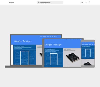 図6 Google製のレスポンシブデザイン表示チェックサービス