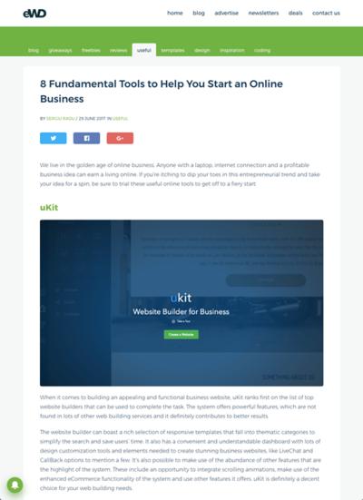 図6 オンラインビジネスを始めるのに役立つサービス8選