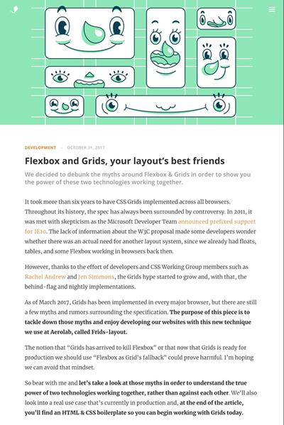 図1 FlexboxとCSS Gridを併用したレイアウトのススメ