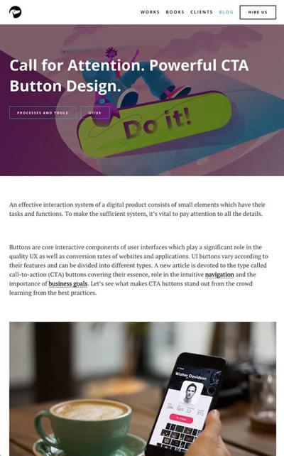 図3 良いボタンを作るためのヒント