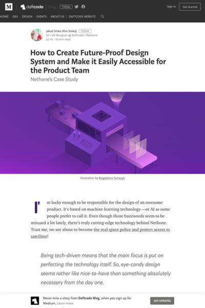 図2 将来の使用に耐えうるデザインシステムの作り方