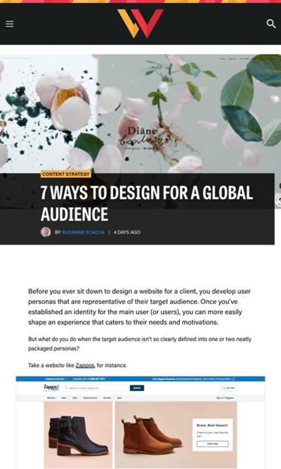 図1 世界中の人に向けたデザインを行う方法