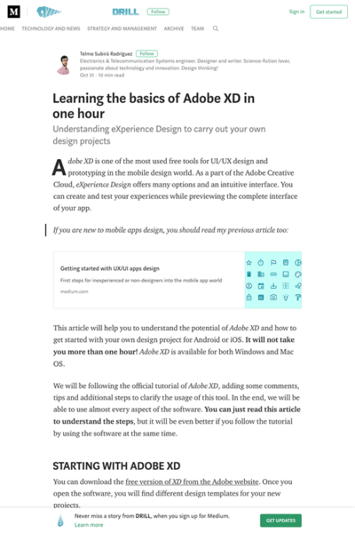 図4 初心者向けのAdobe XDの使い方