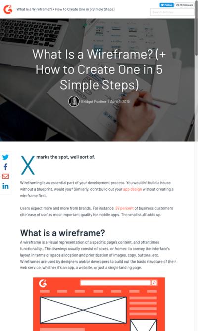 図2 ワイヤーフレームとは何か&作る方法