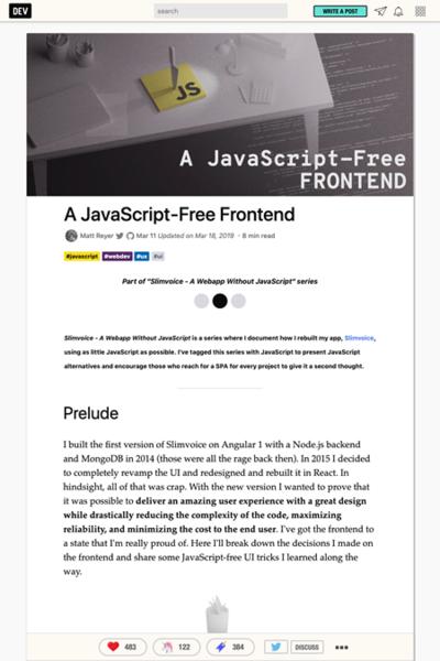 図4 JavaScriptを使わずにインタラクションを実装するヒント