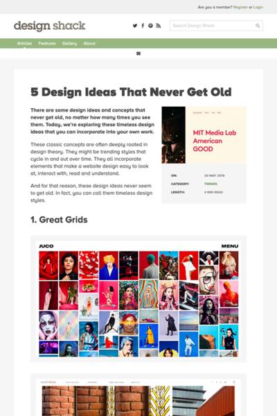 図3 古くならないデザインのアイデア5選