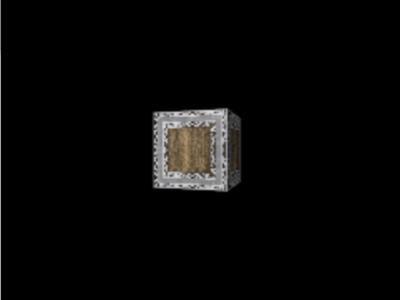図4 真ん中に置いた立方体の周りをカメラが回る