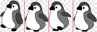 図2 すべてのコマを同じ大きさでPNGファイルに納める