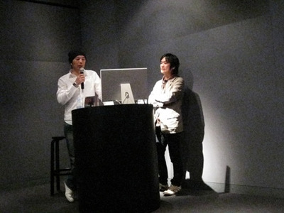 中村洋基さんと木谷友亮さん