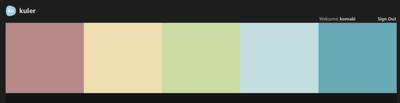 もう少し,はっきりしたカラーを加えてみたいと思って探した配色