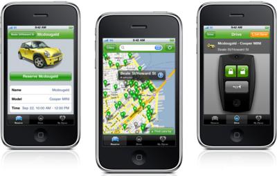 Google MapsとiPhoneアプリを活用したサービス