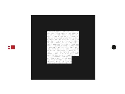 図2 黒い枠で作られたマーカー部分
