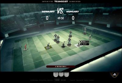 図2 ユーザーはコマンドを選択しながらゲームを進める
