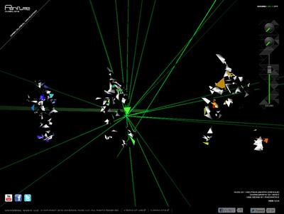 図2 オリジナルサウンドに合わせ,ポリゴンモデルが生々しくダンスする