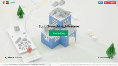 図3 機能を追加してリニューアルされた『Build with Chrome』