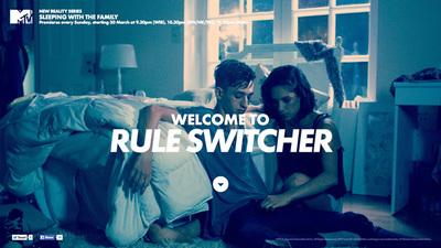 図3 ウェブカメラを利用している『MTV - RULE SWITCHER』