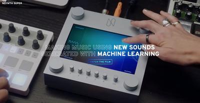 図1 「Google Brain」の一部門「Magenta」による音楽制作ツール,「NSynth Super」を紹介するウェブサイト『NSynth Super』
