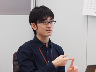 対談の模様(2)猿田 浩輔氏