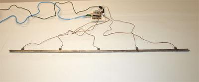 図1 直線レイアウト