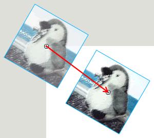図1 (3)もとの位置に戻す