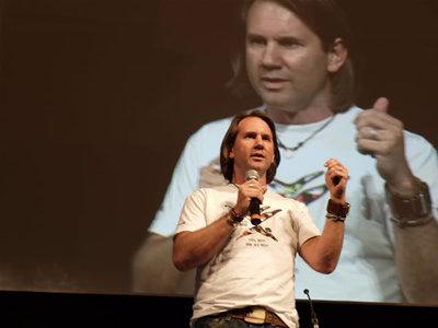 写真4:Joe Wilson(Microsoft アカデミック イニシアチブ シニアディレクター)