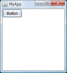 図3 buttonsampleの実行結果