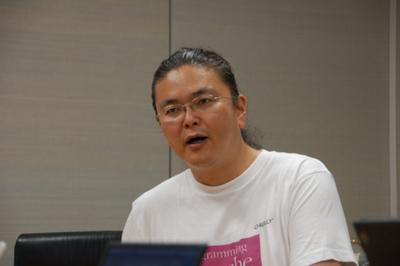 えんどうやすゆき氏(Kahuaプロジェクト)