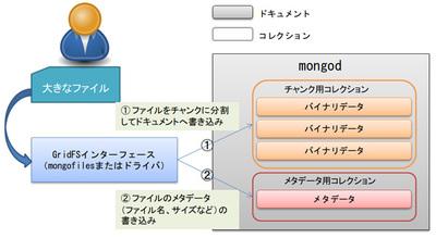 図1 GridFSの概要図