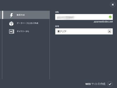 図2 Webサイトの作成