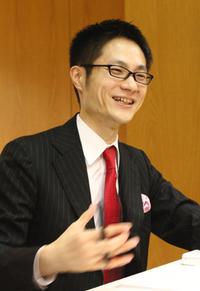 石橋秀仁(ひでと)さん 代表取締役/プランナー(写真:上松尚之)