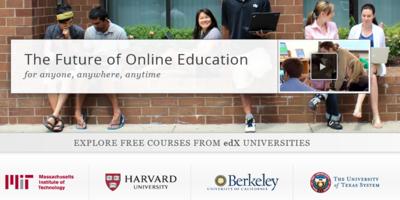 edX in which MIT, Harvard University, etc. participate