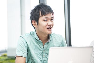 写真2 メディア・システム部 システムグループ 本橋 佑介氏