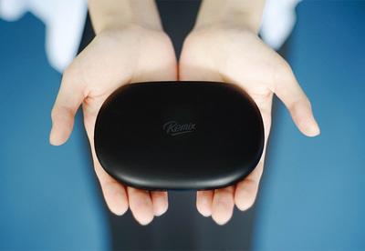 手のひらにのるサイズのRemix mini