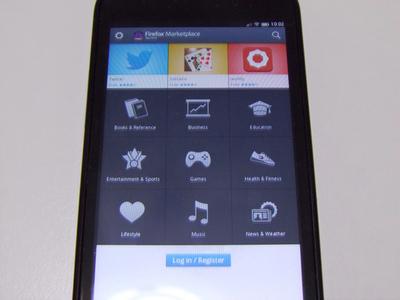 シンプルでわかりやすいデザインのMarketplaceアプリ