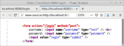 図2 入力画面のソースコード