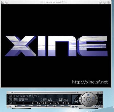 図1 xineの画面
